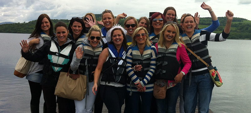 hen party loch lomond