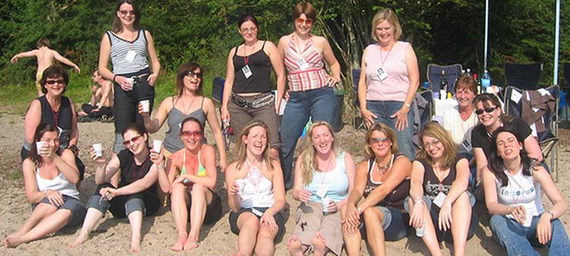 hen party loch lomond