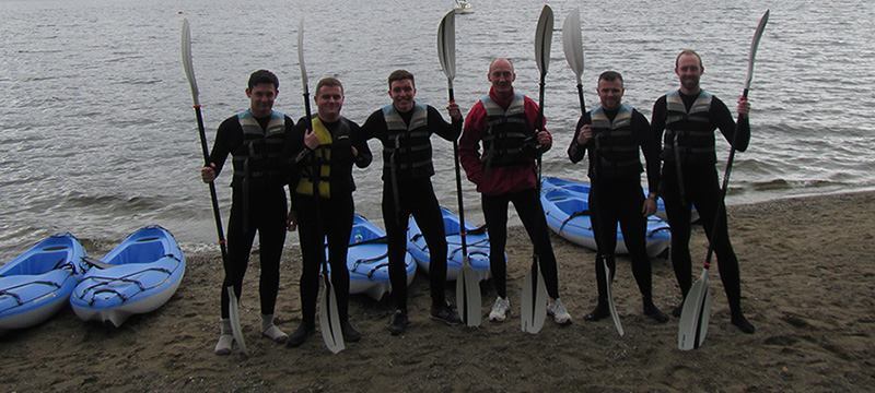 stag party paddlesports