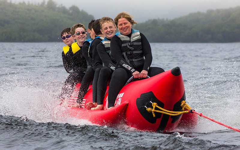 WATER SPORTS: Banana Boat suitable for all