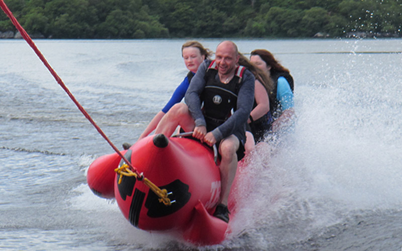 WATER SPORTS: Banana Boat suitable for all ages