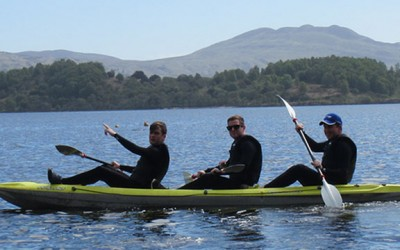 Kayak loch lomond
