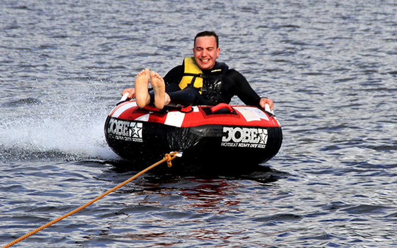 WATER SPORTS: Ringo Ride