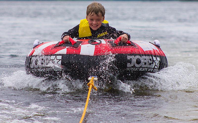WATER SPORTS: Ringo Ride fun