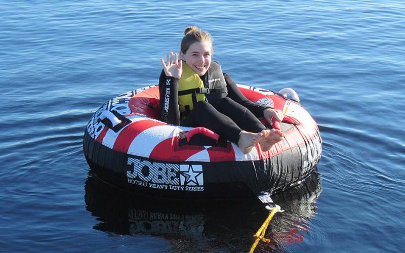 WATER SPORTS: Ringo Ride on Loch Lomond