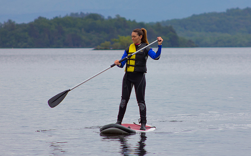 WATER SPORTS: Stand Up Paddleboard on Loch Lomond