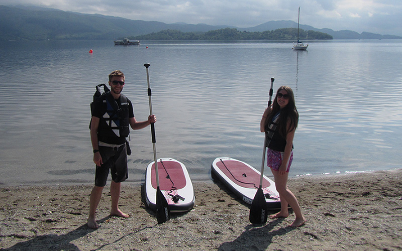 WATER SPORTS: Stand Up Paddleboard a great way to explore
