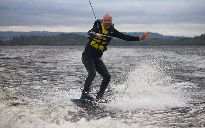 WATER SPORTS: Wakeboard Fun