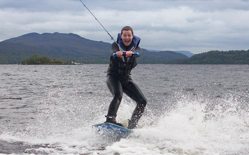 WATER SPORTS: Wakeboard on Loch Lomond