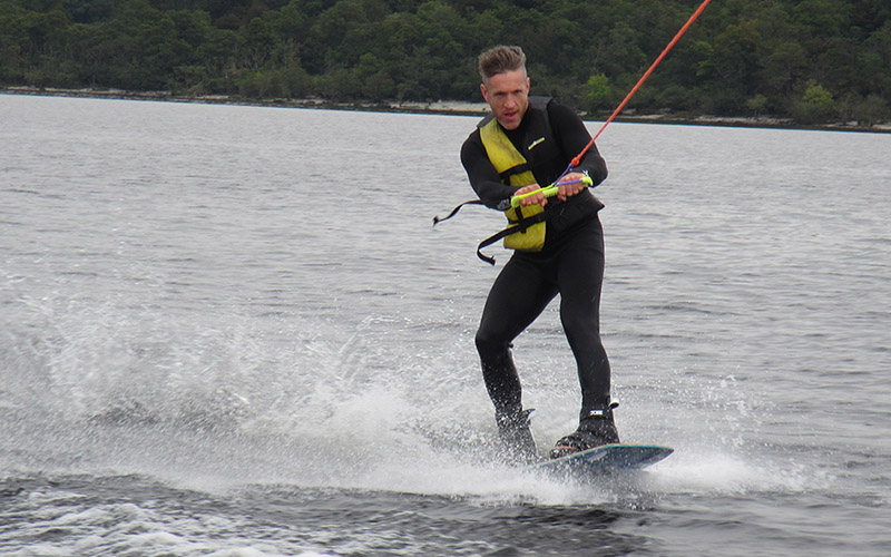 WATER SPORTS: Wakeboard