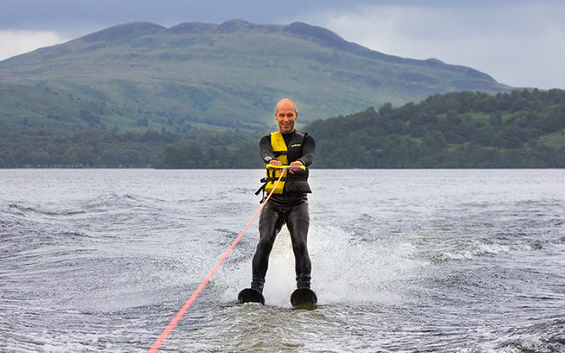 WATER SPORTS - Water Skiing on Loch Lomond