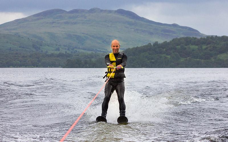 WATER SPORTS - Water Skiing on Loch Lomond